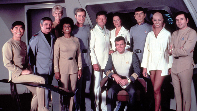 The crew of the Enterprise | Photo: Paramount Pictures