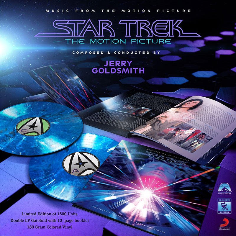 Star Trek: The Motion Picture 2 LP Set
