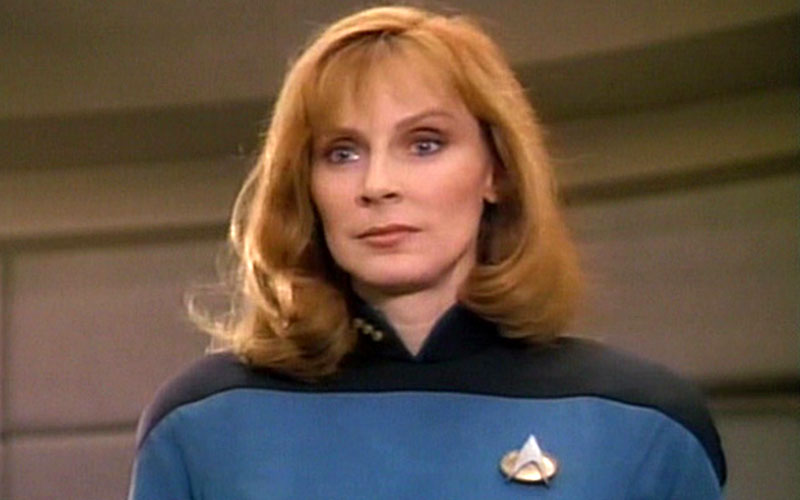 Gates McFadden as Doctor Beverly Crusher on Star Trek: TNG