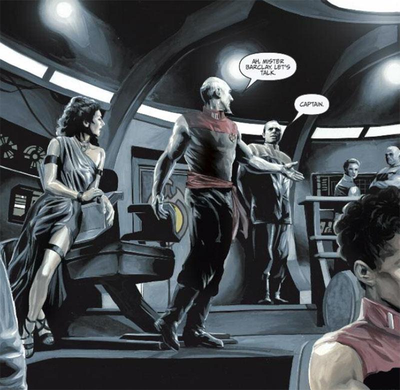 """Star Trek: TNG """"Mirror Broken"""""""