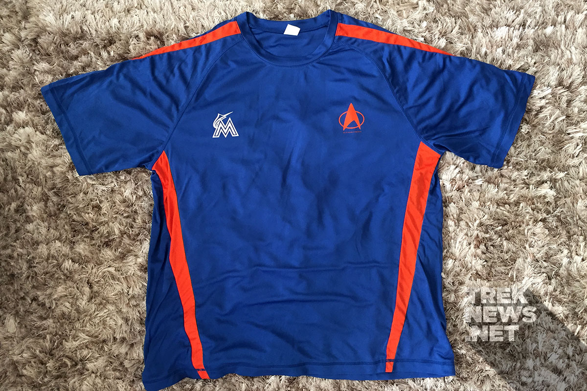 "Miami Marlins ""Star Trek Night"" exclusive TNG jersey"