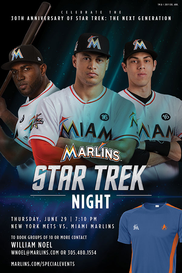 "Miami Marlins ""Star Trek Night"""