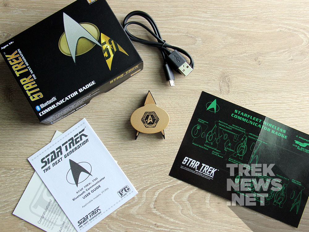 Star Trek: The Next generation Bluetooth Combadge