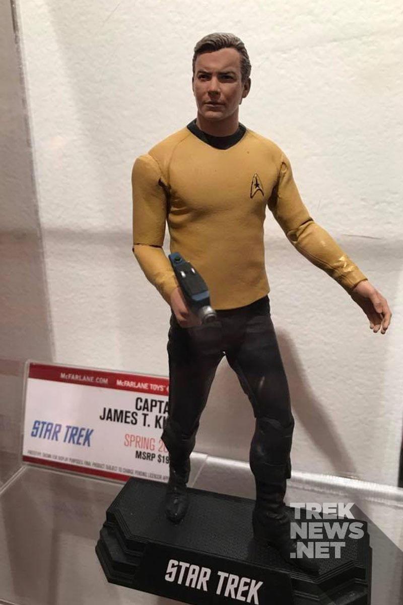 Captain James T. Kirk from McFarlane Toys