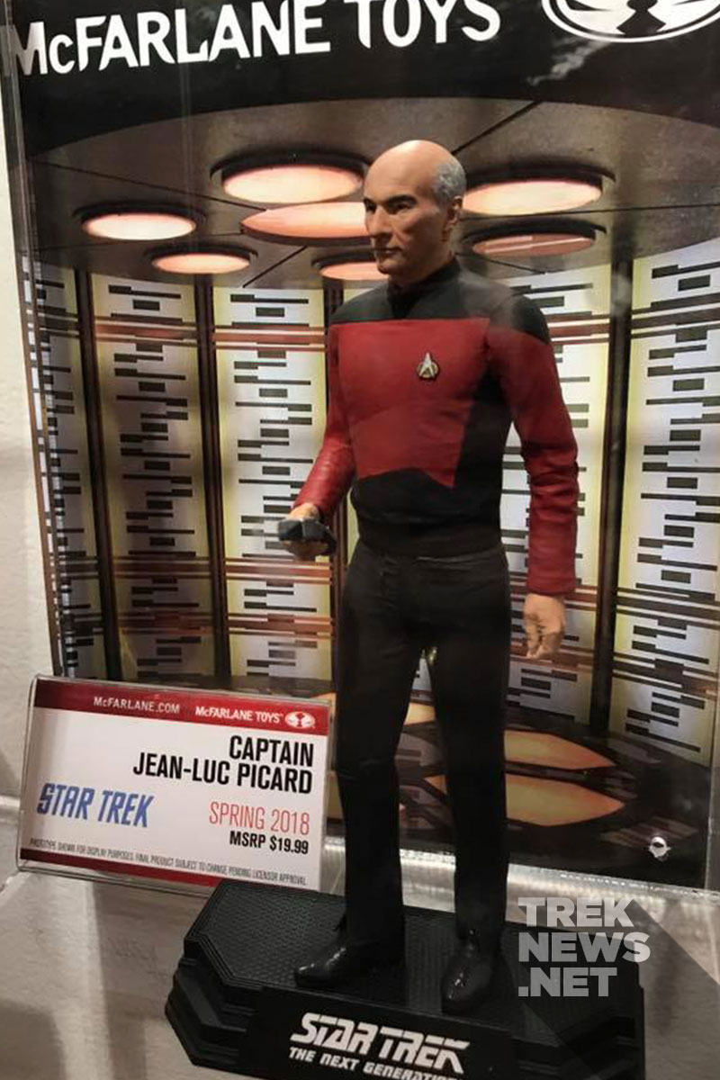 Captain Jean-Luc Picard from McFarlane Toys
