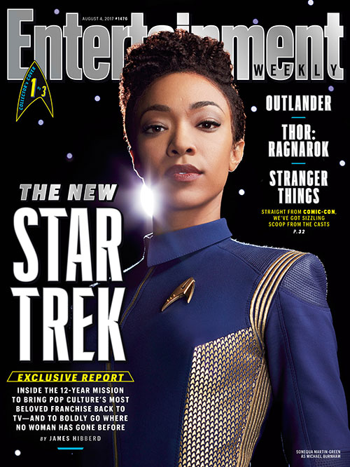 Star Trek: Discovery Entertainment Weekly cover 1