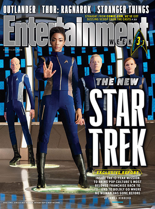Star Trek: Discovery Entertainment Weekly cover 3