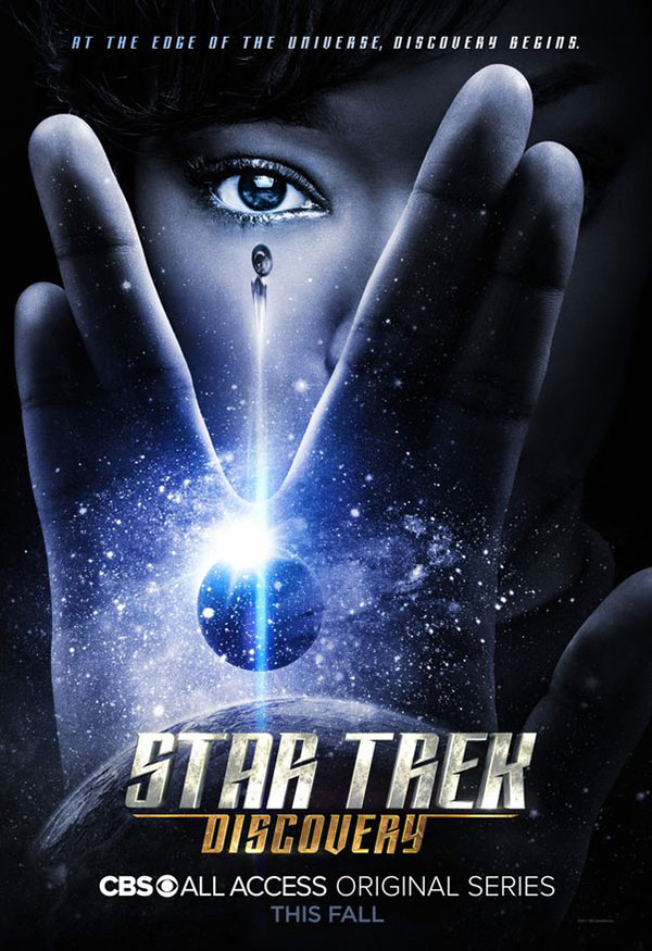 Star Trek: Discovery launch poster
