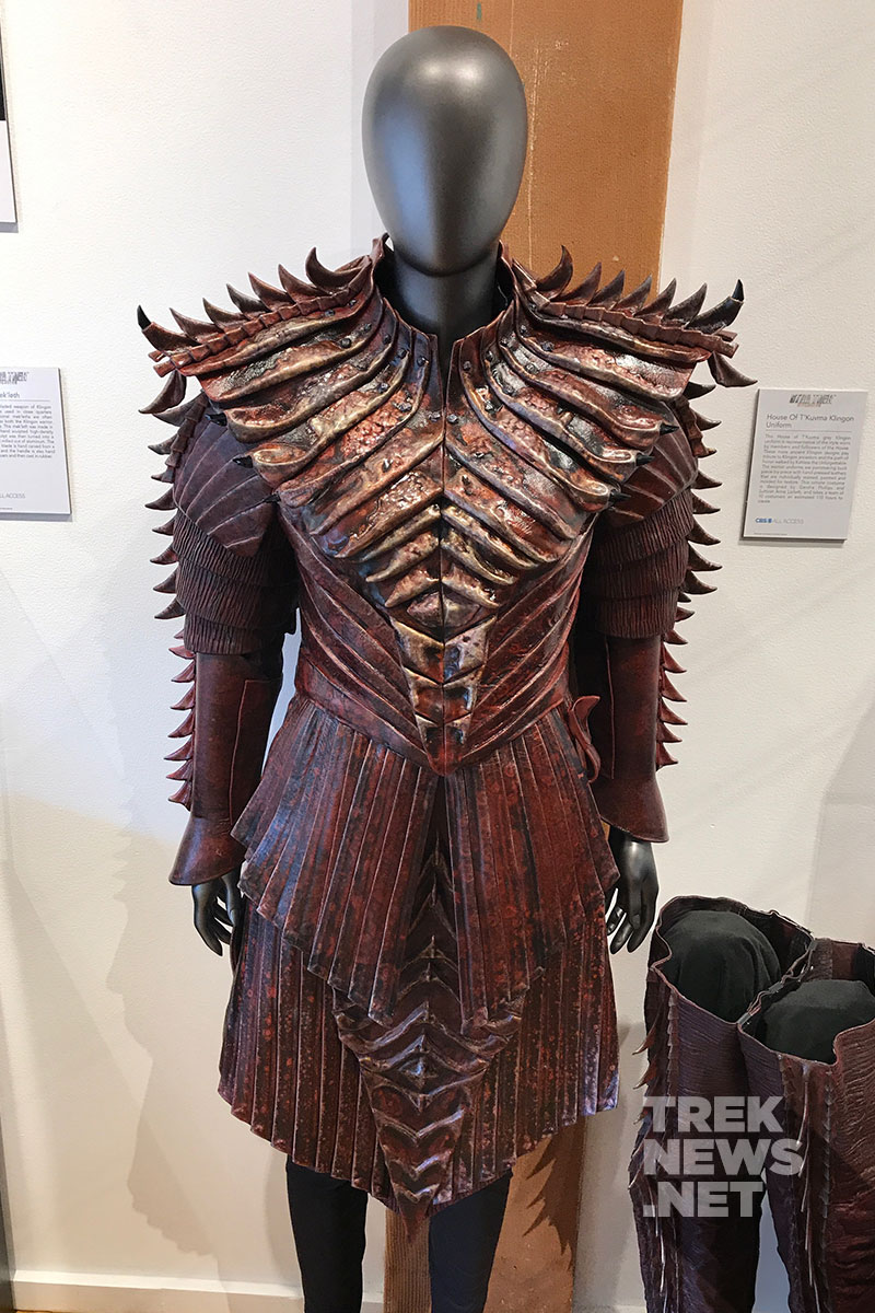 House of T'Kuvma Klingon Female Uniform