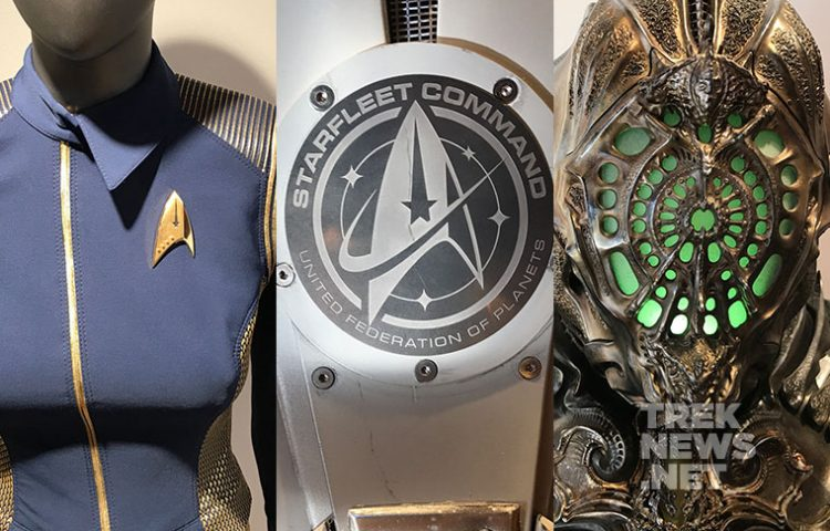 FIRST LOOK: Star Trek: Discovery Props, Uniforms On Display at SDCC