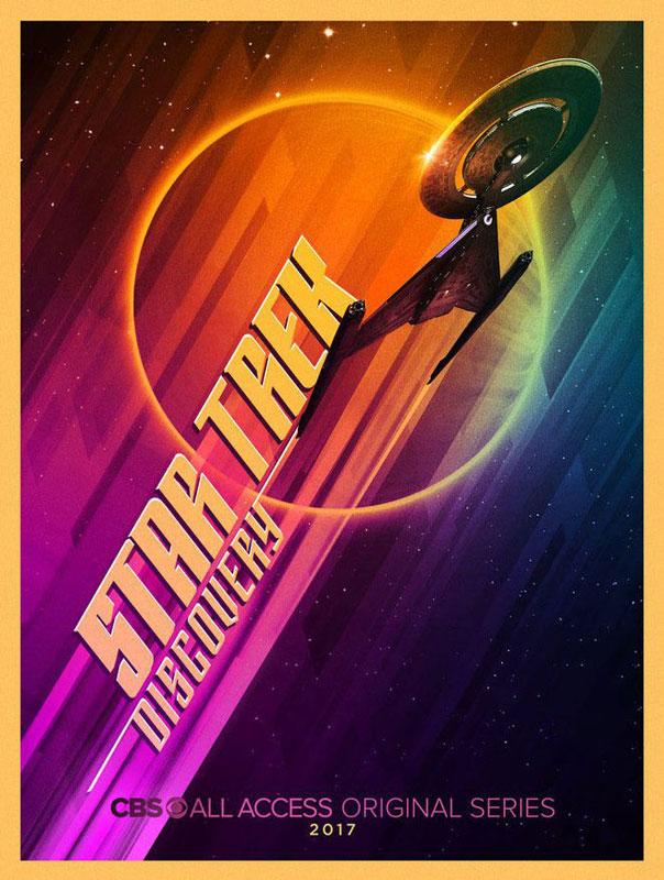 Star Trek: Discovery San Diego Comic-Con 2017 poster