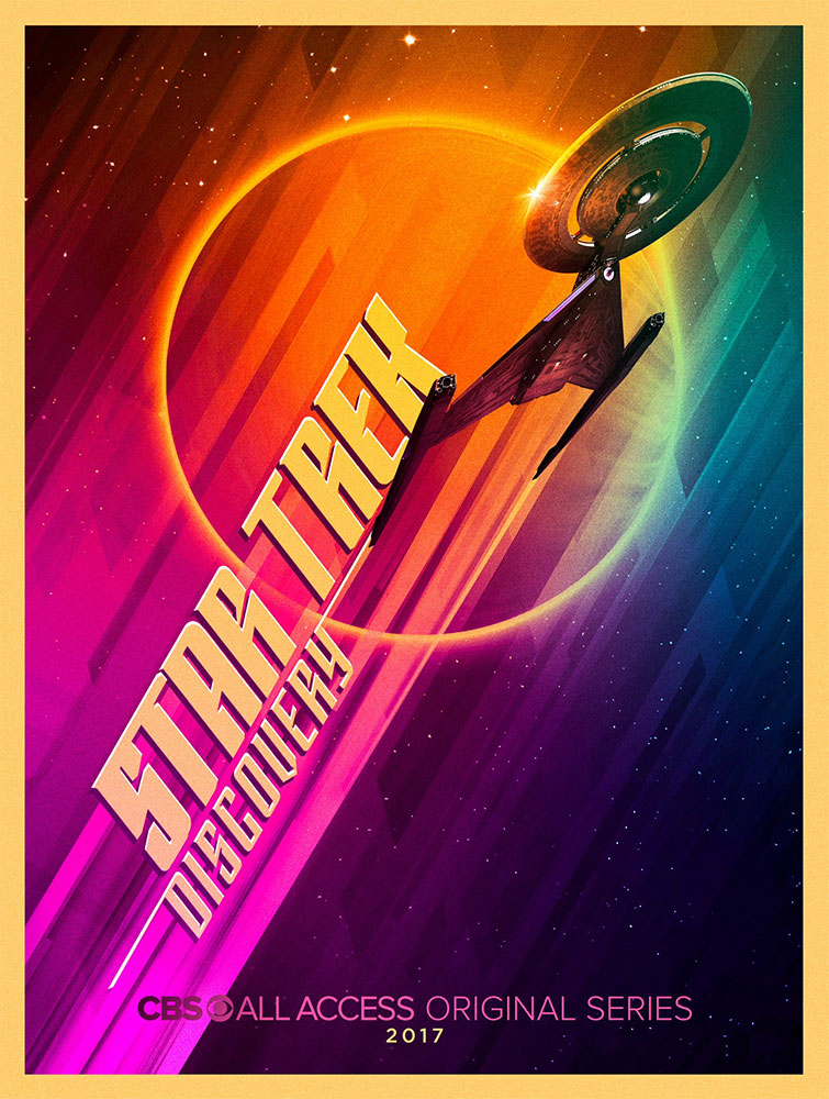 Star Trek: Discovery SDCC exclusive poster