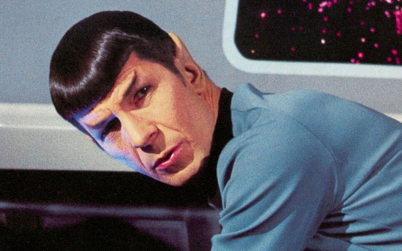 Leonard Nimoy as Spock on Star Trek: The Original Series