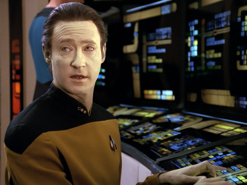 Brent Spiner as Lt. Cmdr. Data