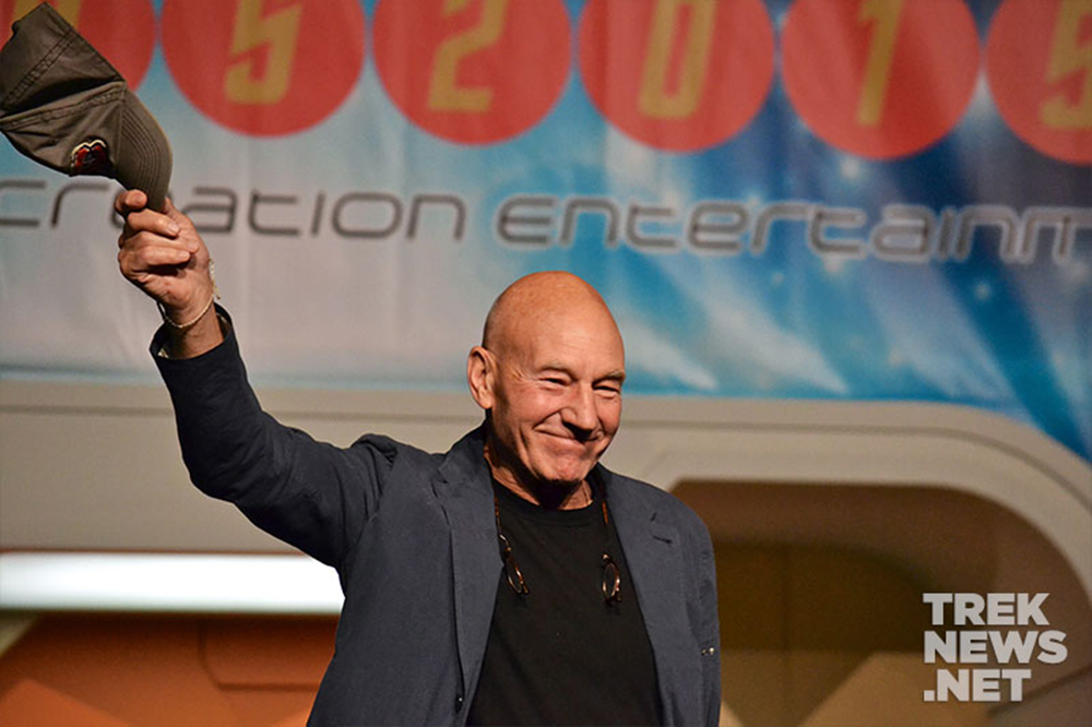 Patrick Stewart at the 2015 Las Vegas Star Trek Convention