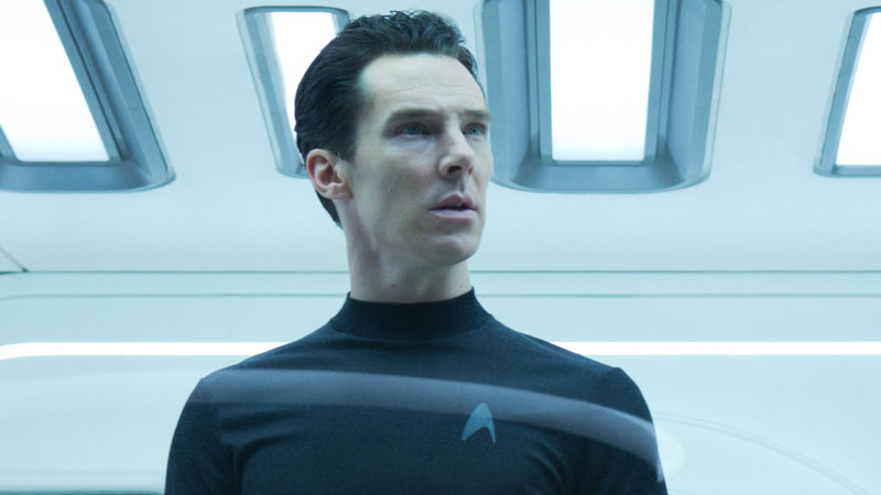 Benedict Cumberbatch as Khan in Star Trek Into Darkness