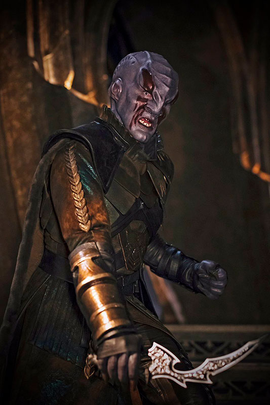 Kenneth Mitch as Klingon Commander Kol in Star Trek: Discovery