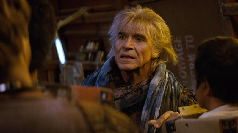 Ricardo Montalbán as Khan Noonien Singh in Star Trek II