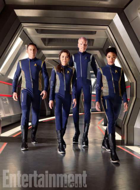 Jason Isaacs, Michelle Yeoh, Doug Jones, Sonequa Martin-Green
