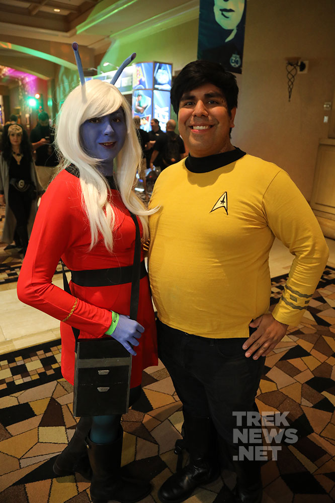 Andorian & Captain Kirk