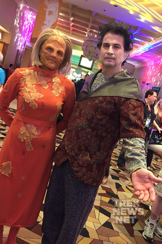 Female Shapeshifter and Weyoun
