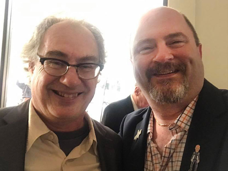 With John Billingsley of Star Trek: Enterprise