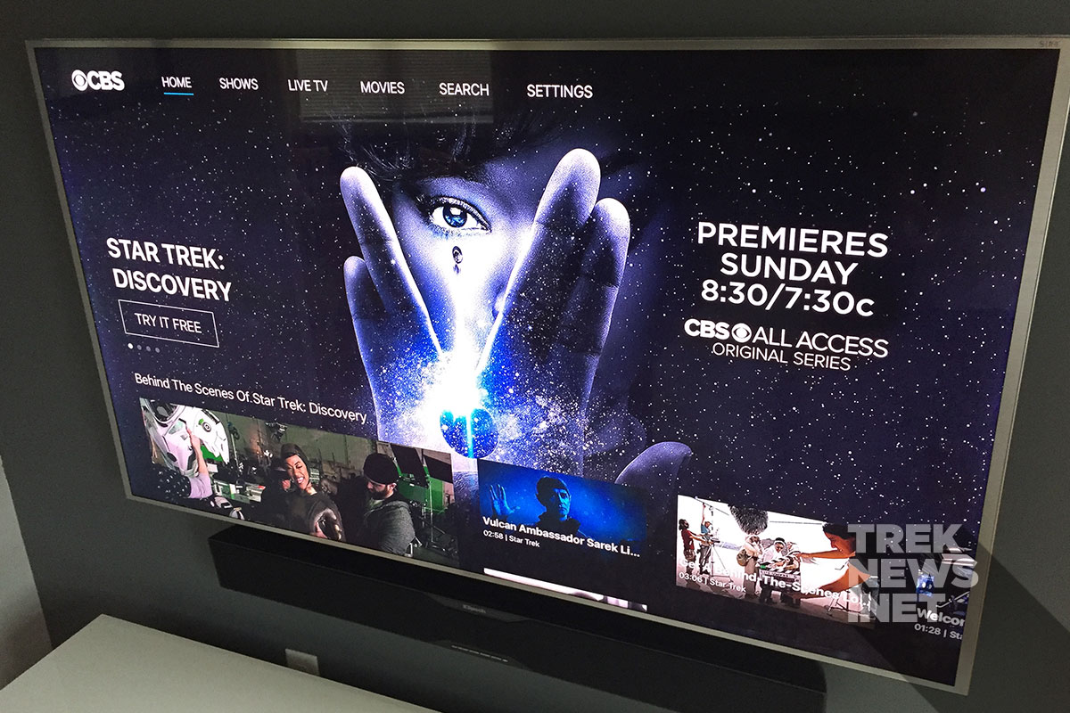 CBS All Access on AppleTV
