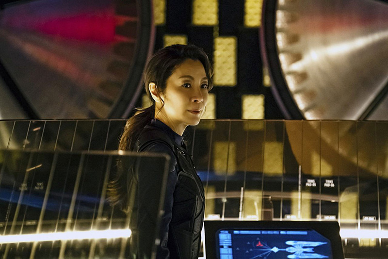 Michelle Yeoh as Captain Philippa Georgiou