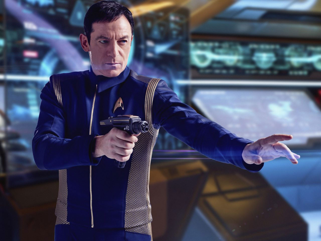 Jason Isaacs as Captain Gabriel Lorca