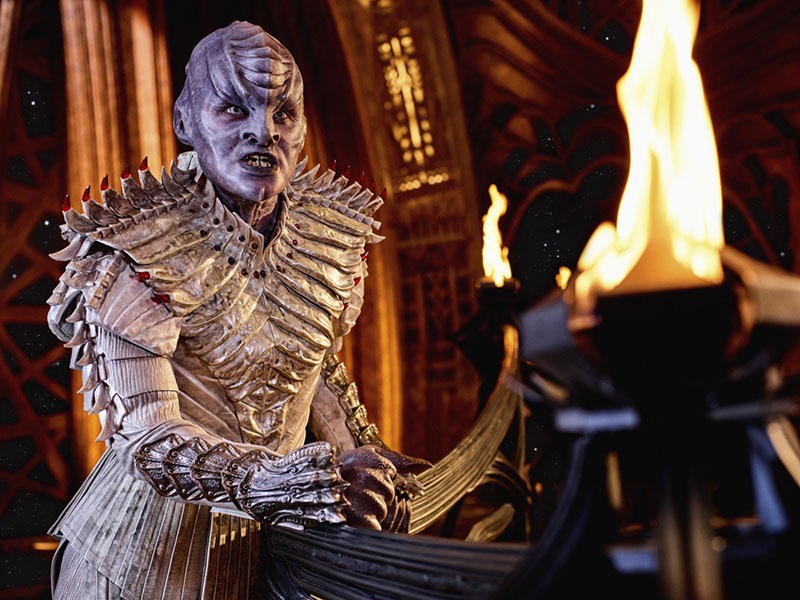 Mary Chieffo as L'Rell on Star Trek: Discovery