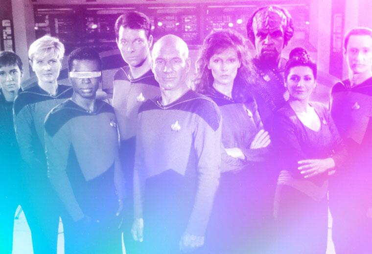 Cast and USS Enterprise The Next Generation REAL Dollar Bill Star Trek