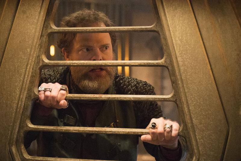 Rainn Wilson as Harry Mudd