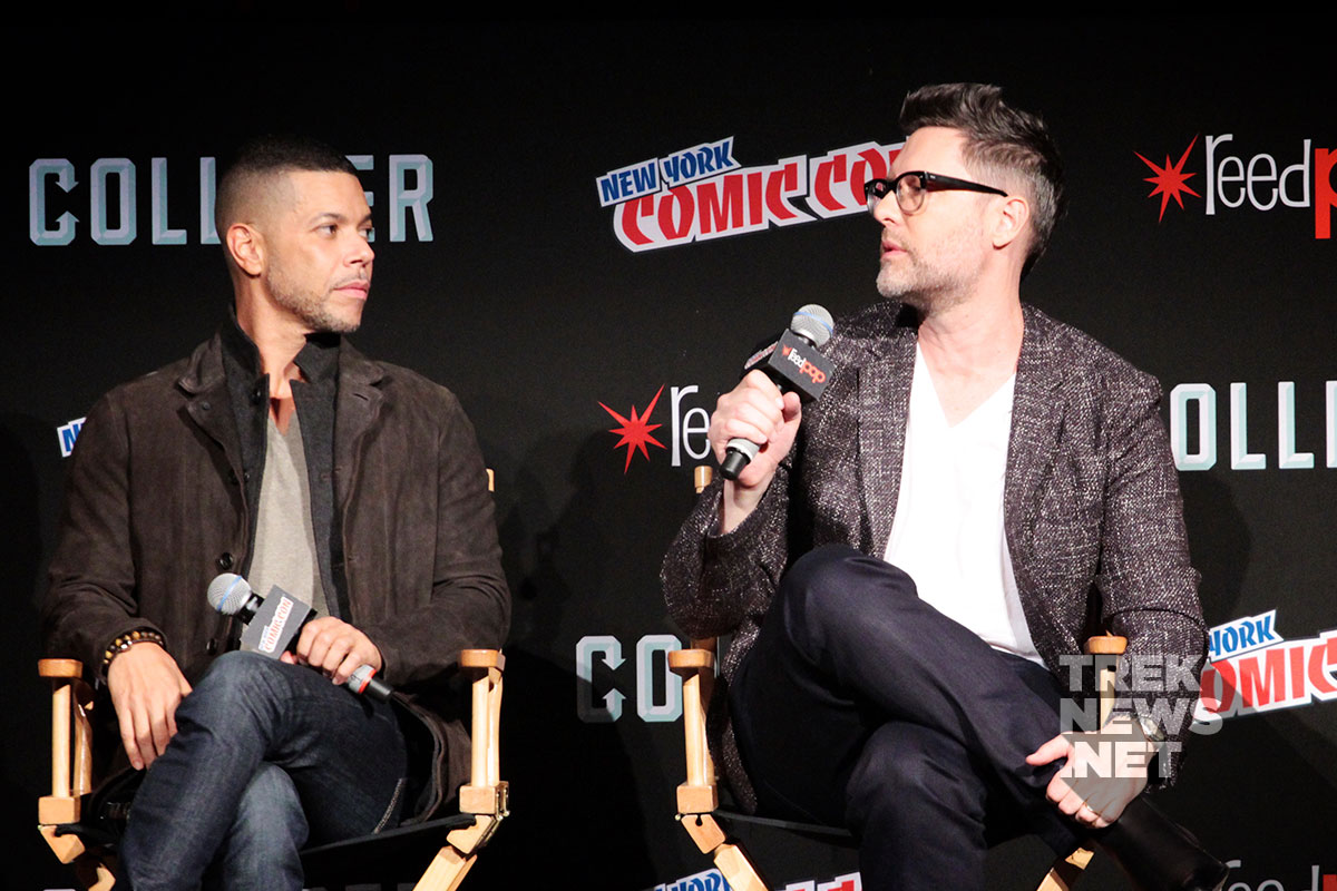 Wilson Cruz and Aaron Harberts
