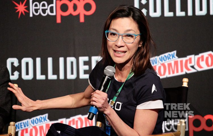 [NYCC '17] Michelle Yeoh Assures Georgiou Will Be Back, Sonequa Martin Green Talks Burnham's Struggle