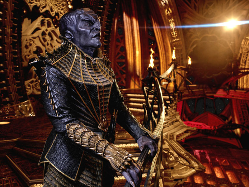 Mary Chieffo as the Klingon Battle Deck Commander L'Rell on Star Trek: Discovery