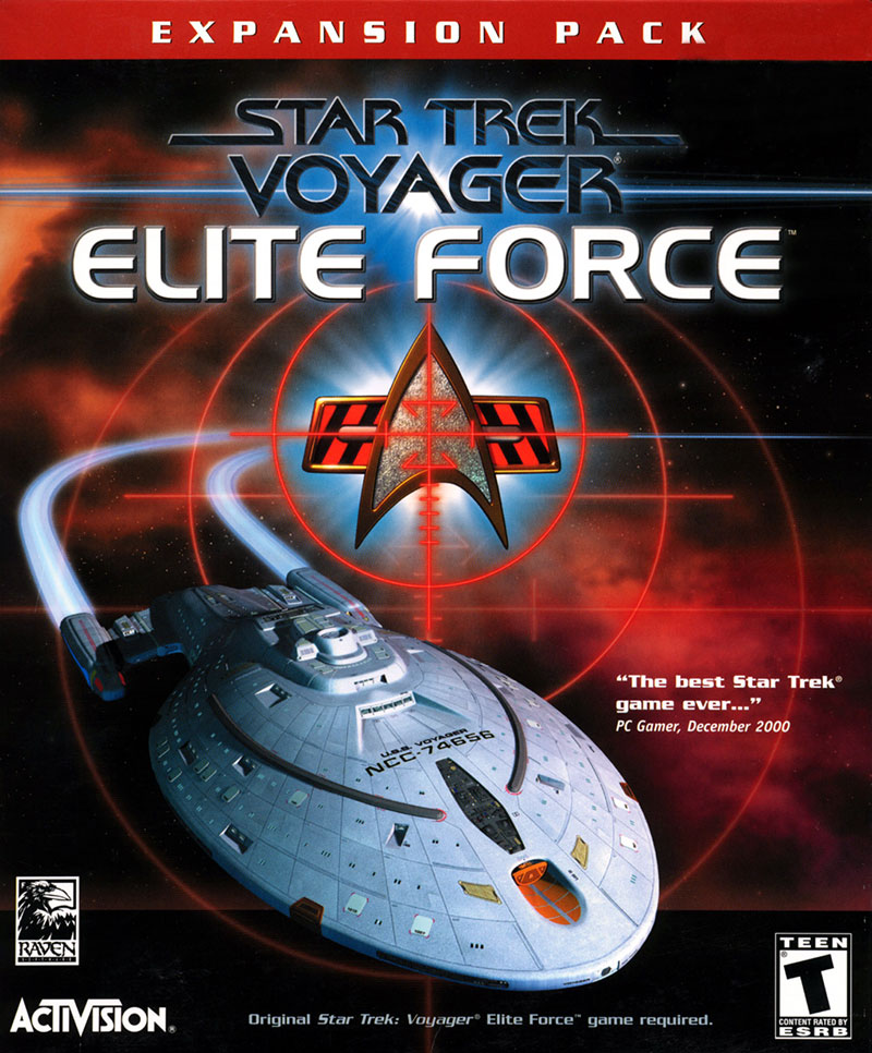 Star Trek: Elite Force cover