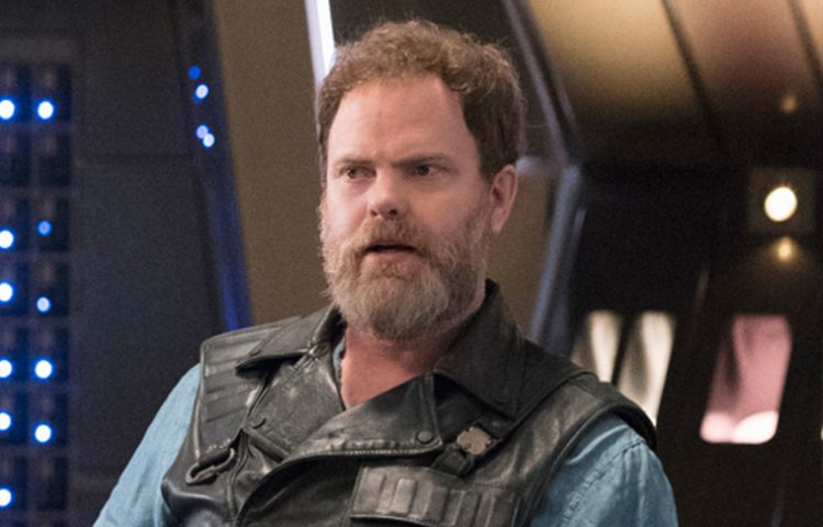 WATCH: Rainn Wilson Has A Theory About Harry Mudd