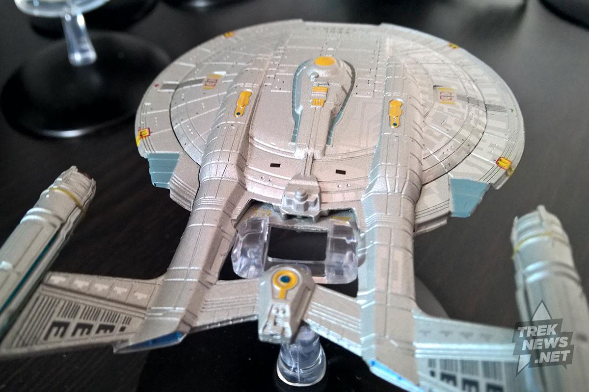 Aft view of Enterprise.