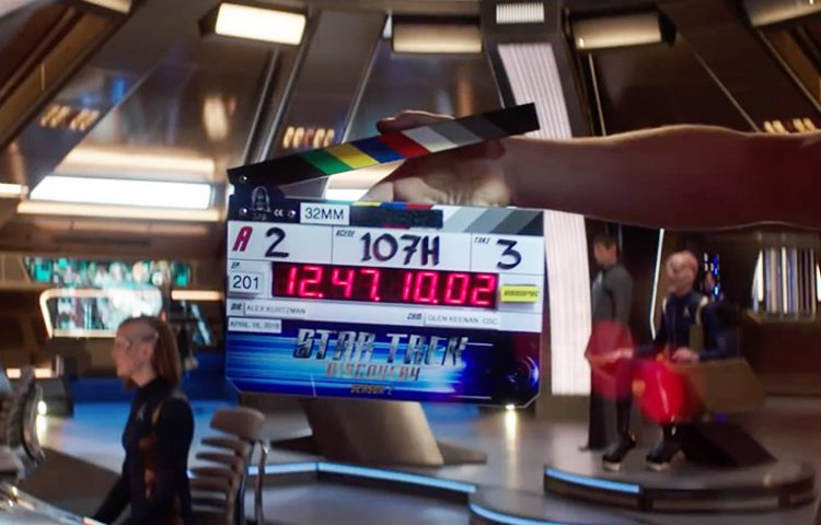 Our First Behind-The-Scenes Look At Star Trek: DISCOVERY Season 2
