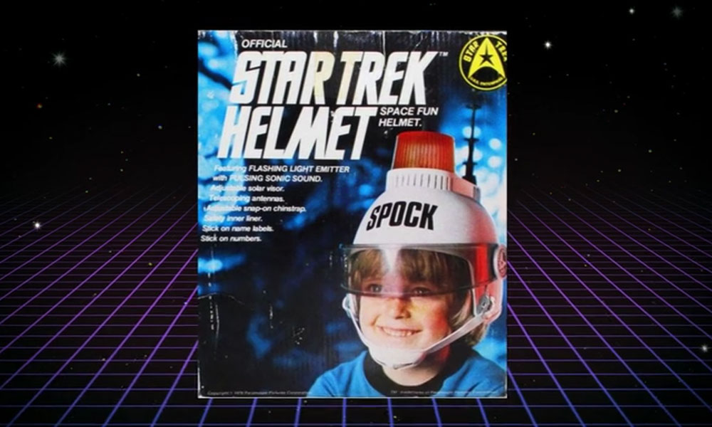 The Star Trek Helmet