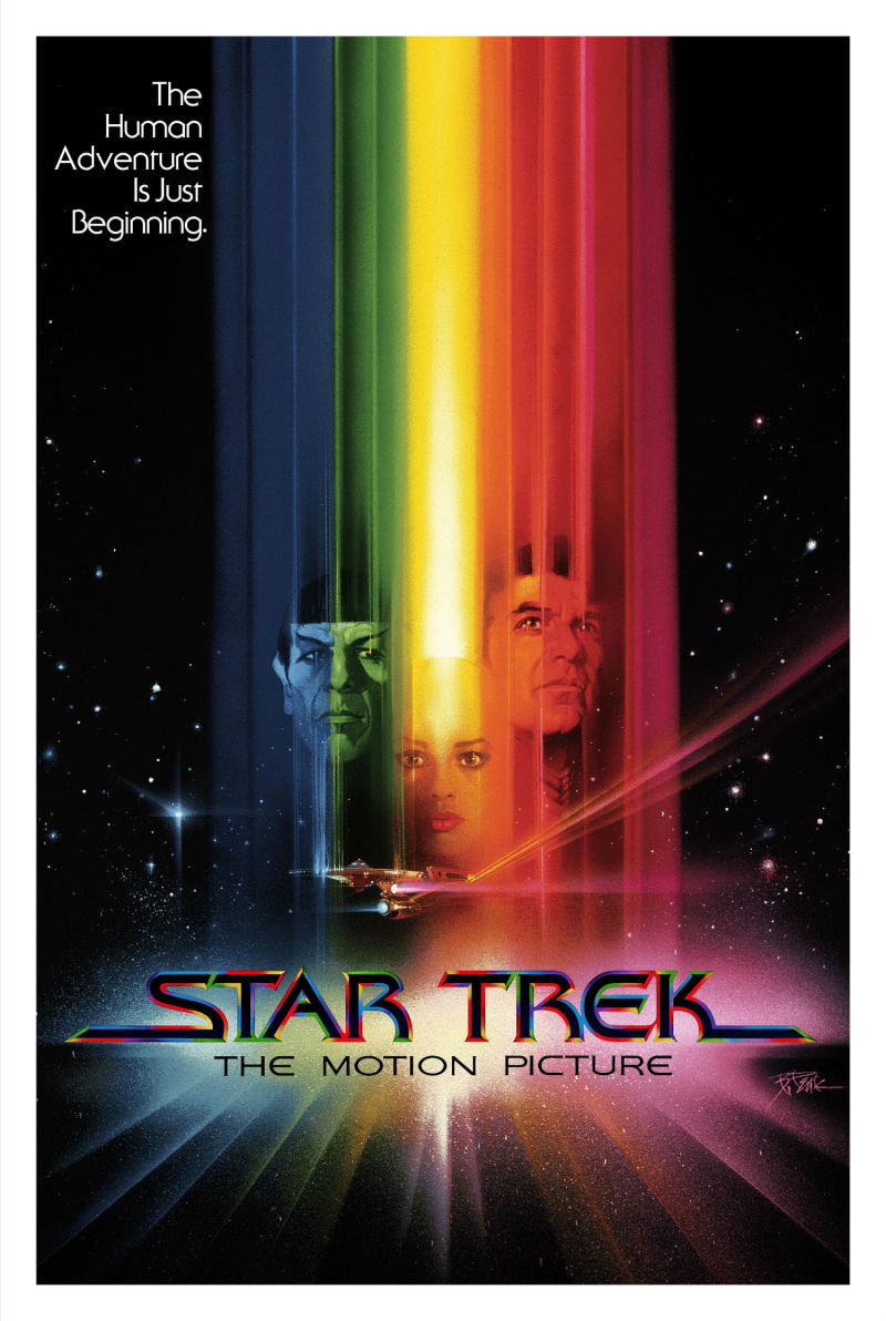 Regular edition of the Star Trek: The Motion Picture print