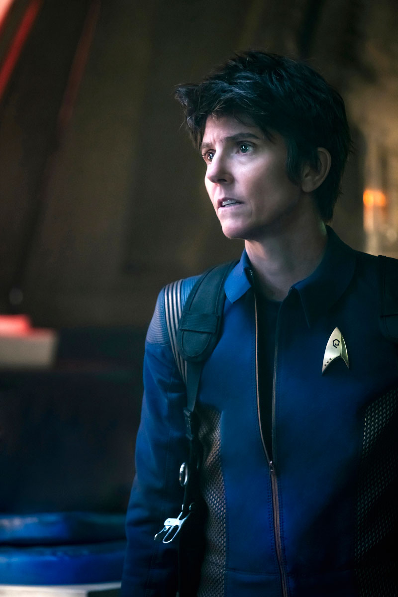 Tig Notaro as Chief Engineer Reno
