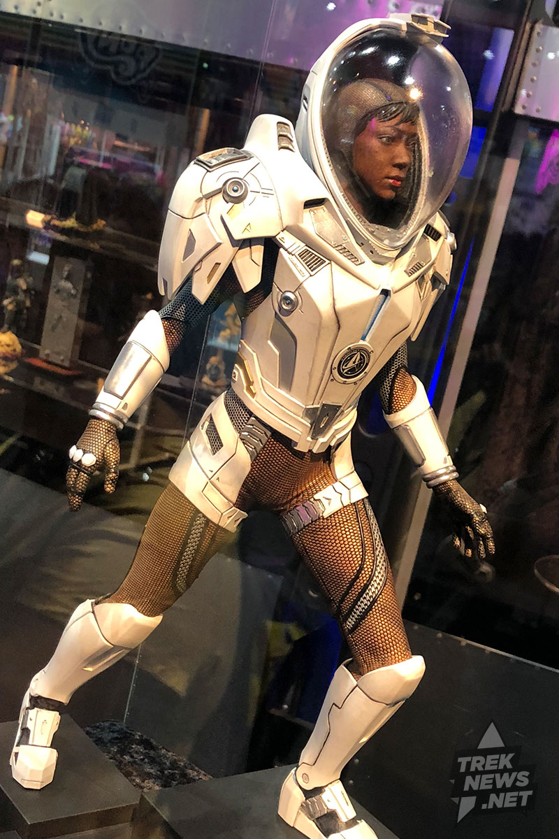 Gentle Giant's Michael Burnham statue