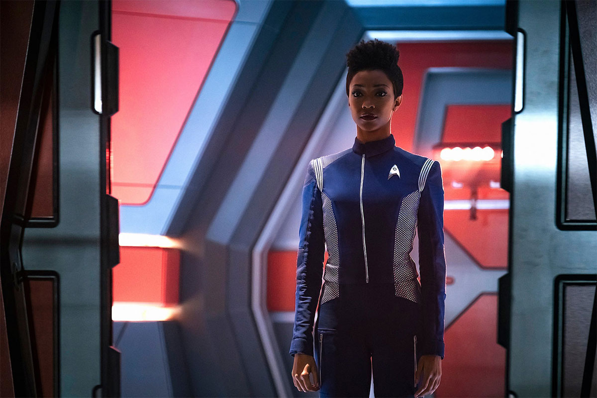 STAR TREK: DISCOVERY Casts REBECCA ROMIJN as NUMBER ONE