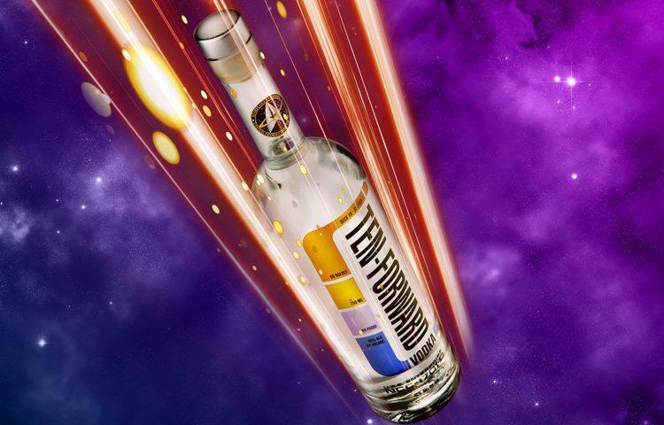 Star Trek: TNG-Inspired 'Ten Forward Vodka' Beaming Down Later This Year