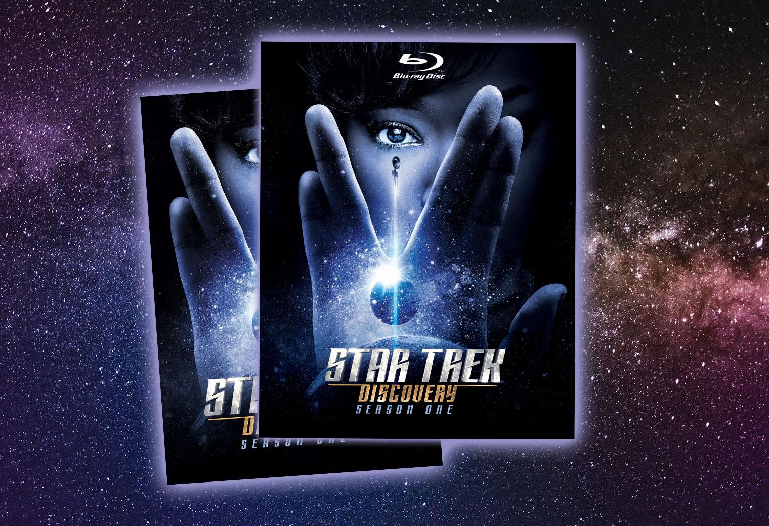 star trek discovery blu ray