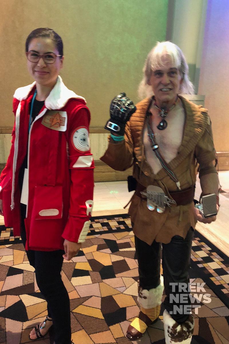 Kirk and Khan
