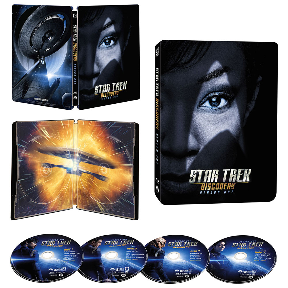 Star Trek: Discovery - Season 1 Blu-ray SteelBook