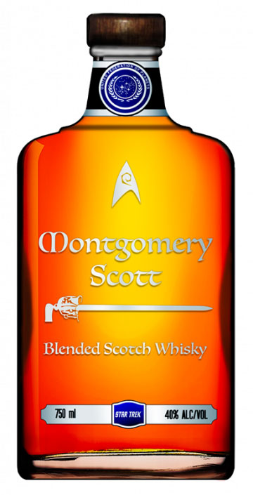 Montgomery Scott Scotch Whiskey