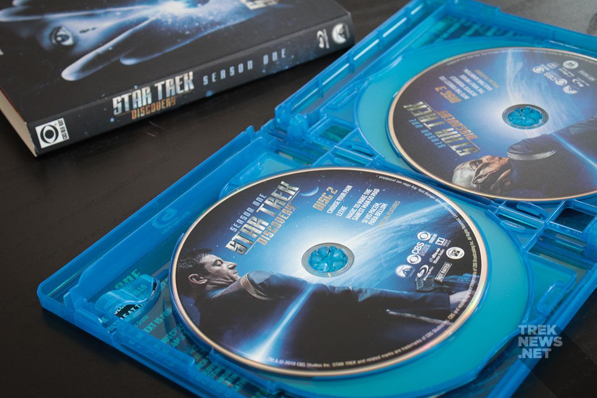 Star Trek: Discovery - Season 1 packaging